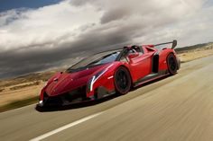 Top 10 most expensive cars...you must read about these by clicking the pin!  1. Lamborghini Veneno $4M