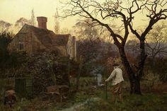 Evening, Brockham by Edward Wilkins Waite  ca. 1890
