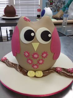 Owl cake - this is for you Lynae