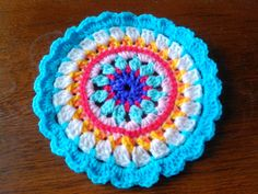 Mandala au crochet