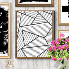 Affiche scandinavia black and white scandinavian by TypeSecret                                                                                                                                                                                 More