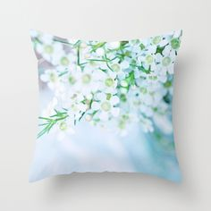 Whispered dreams... Throw Pillow Cover by Lisa Argyropoulos - (pillow insert available for purchase)