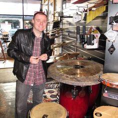 Bodyjar drummer Shane Wakker visits Revolver Drums