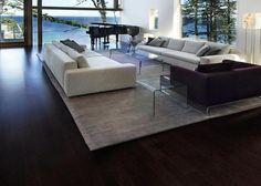 Gekleurd Vinyl Vloer : Beste afbeeldingen van donkere vloeren flats floor en house