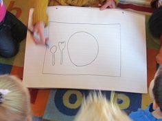 Setting the table Thanksgiving Feast, Thanksgiving Recipes, Meals, Preschool, Power Supply Meals, Meal, Food, Kindergarten, Preschools