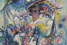 Vasilij Kandinskij  Piazza Rossa, 1916