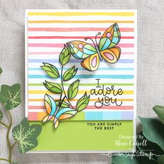 Simon Says Stamp Card Kit of The Month APRIL 2018 BEAUTIFUL DAY ck0418 zoom image