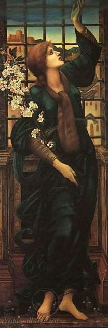 Hope, oil on canvas by Sir Edward Coley Burne-Jones, British, 1833-1898.