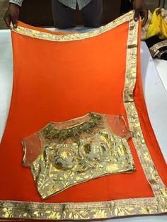 Latest Chiffon saree Paired With Designer blouse | Biy Online Sarees | Elegant Fashion Wear Price ;4900 #chiffonsaree #designer #blouse