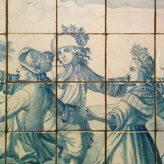 #ustedestaaqui #azulejos #azulyblanco #ojitos #bailantes #taller582 #youarehere #tiles #whiteandblue #eyes #dancers