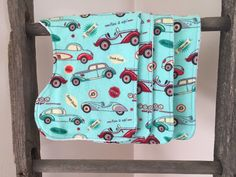 A personal favorite from my Etsy shop https://www.etsy.com/listing/225016606/baby-boy-burp-cloths-cars-burp-cloths