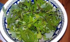 Homegrown Baby Kale Salad