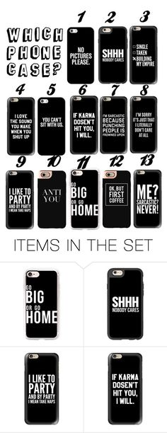 """Which Phone Case?"" by nmdejager ❤ liked on Polyvore featuring art"