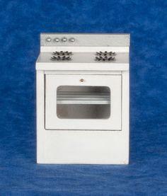 MODERN STOVE WHITE Miniatures Pinterest Modern stoves
