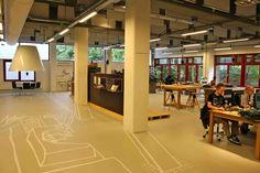 gouda   nederland   chocoladefabriek   stadsbibliotheek