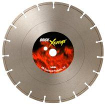 MK Diamond 157944 MK-BX-30 14-Inch Dry Cutting Segmented Saw Blade with 1-Inch Arbor for Brick and Block