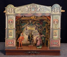 Paper Theatre by Museum of Performance & Design Set Theatre, Little Theatre, Puppet Theatre, Marionette, Toy Craft, Paper Toys, Vintage Toys, Antique Toys, Vintage Paper