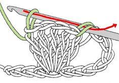 popcornsteek Crochet Motif, Crochet Stitches, Crochet Baby, Knit Crochet, Crochet Things, Knitting Books, Hand Knitting, Knitting Patterns, Boyfriend Crafts