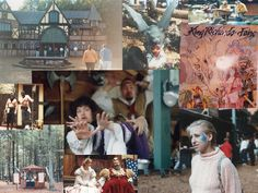 """Fan Crystal Littlefield submitted this collage she made for a calendar for her sister, Holly. """"All the BEST of the faire."""""""