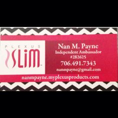 Looking for a way to make some extra money or even for a full time opportunity? Check out awesome business options.Need to lose weight and begin a more healthy lifestyle?  Check my website out at. www.nanmpayne.myplexusproducts.com. Ambassador #282625