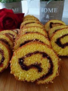 Greek Sweets, Greek Desserts, No Cook Desserts, Greek Recipes, Dessert Recipes, Cake Roll Recipes, Coffee Cake, Cake Cookies, I Foods