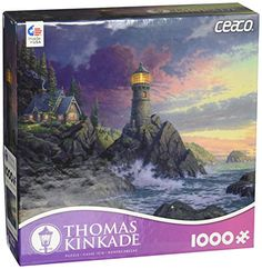 Ceaco Thomas Kinkade - Rock of Salvation Puzzle (1000 Pie…