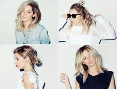 Ashley Tisdale: Cuatro peinados para melenas midi foto