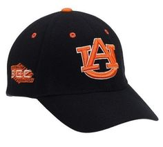 "Auburn Tigers Adult Adjustable Hat ,Navy Top of the World. $15.99. Velcro backstrap closure. 0.00"" high. Team name on the backstrap. Conference mark on the side. Team color adjustable wool hat. 0.00"" wide. Primary 3D logo on the front"