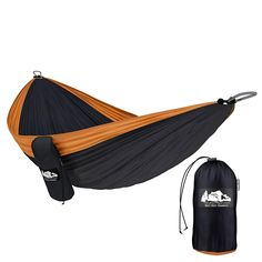 TimberRec Double Hammock   XL Parachute Camping Hammock for Indoor and Outdoor Use   Great for Hiking, Backpacking, in the Yard or on the Beach! -- This is an Amazon Affiliate link. Check this awesome product by going to the link at the image.