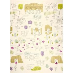 Kokka Trefle Margaret the Ballerina Barre Natural from @fabricdotcom  Designed by Kokka, this cotton canvas fabric is perfect for quilting, apparel and home decor accents. Colors include oatmeal, soft black, green, aqua, lavender and orchid.