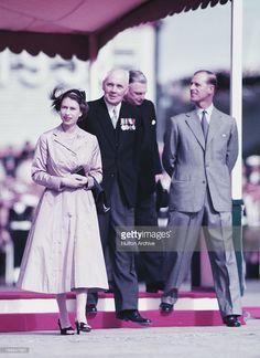 Queen Elizabeth, 1954 Australian tour in Tasmania