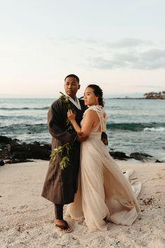 Korean Hawaiian Elopement with a Traditional Ceremony – Alyssa Luzaich Photography – Kukio Beach – Bridal Musings 56