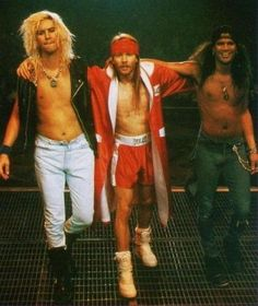 Duff McKagan - Slash - Axl Rose
