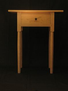 Shaker Bedside Table
