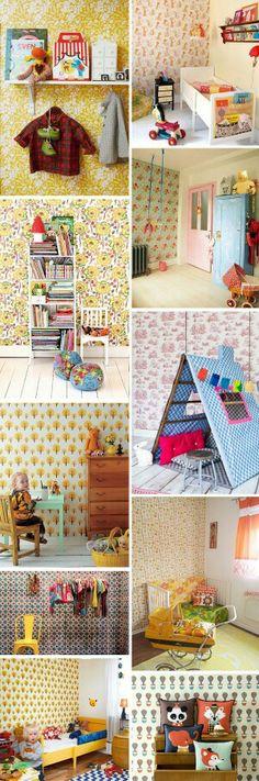 Ideas para decorar las habitaciones de los más pequeños de la casa.