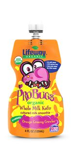 Orange Creamy Crawler ProBugs - Lifeway Kefir