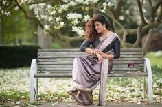 Me & Myself  Spring in Wuppertal  MODEL @prisanthi_mua PHOTO @shankarphotography  Saree @jenthyarjun Location Wuppertal Germany Wuppertal Germany, Outdoor Furniture, Outdoor Decor, Up Hairstyles, Model, Instagram, Hairdos, Scale Model