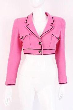 039548dbe48c Runway Spring 1995 Vintage CHANEL Jacket at Rice and Beans Vintage Chanel  Jacket, Chanel Outfit