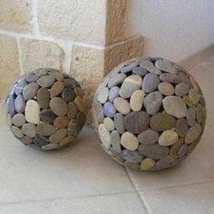 40 idées et + de décorations à réaliser avec de simples pierres - Bricolages - Trucs et Bricolages