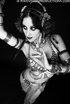 The Indigo Belly Dance ~ Rachel Brice. Photo by Pixie Vision Productions.