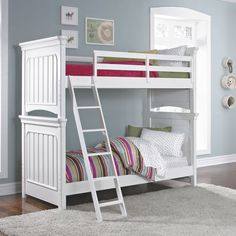 Zoe Twin Over Twin Bunk Bed