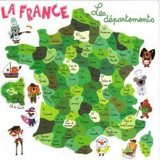 Les départements français
