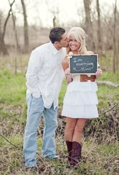 cutest engagement picture ever!
