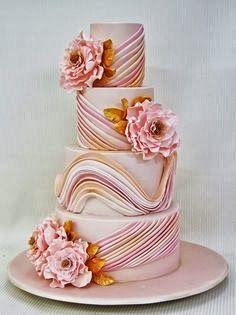 pastel wedding cake design
