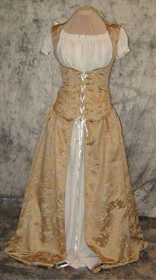 Bodice Dress Renaissance Medieval Costume Wedding 328 | eBay