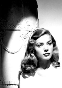 Lauren Bacall - hair waves                                                                                                                                                                                 More