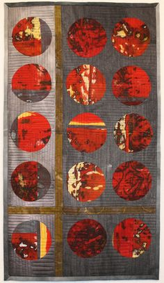 Living and Dyeing Under the Big Sky: Red Planets is Finished!