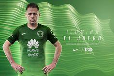Blog de palma2mex : El Club América de México presentó su tercer unifo...