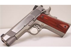 Colt Lightweight Commander. Nice 1911  Picture this with pearl grips and you see the one that was taken from me and pawned. I loved that gun!