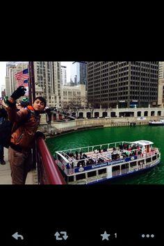 St Patricks in Chicago